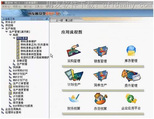 用友U6普及型ERPV3.0免费试用版下载