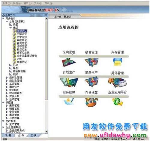 用友U6普及型ERP3.2plus1试用版免费下载